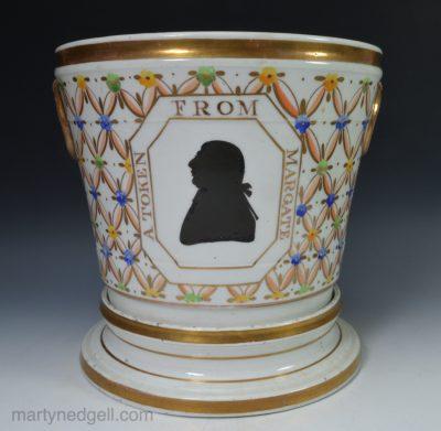 Commemorative cache pot
