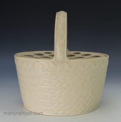 Wedgwood stoneware basket