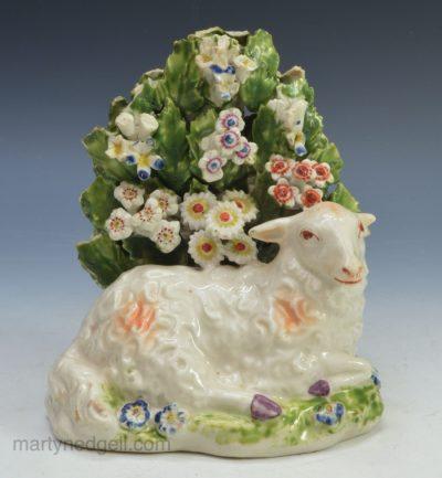 Derby porcelain sheep