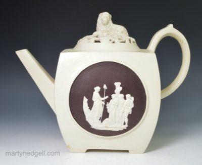 Turner stoneware teapot