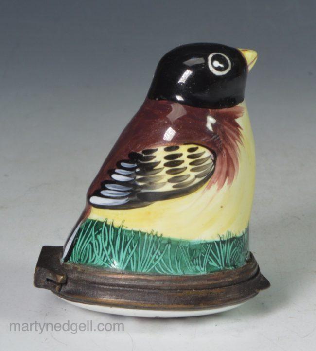 Bilston enamel bird
