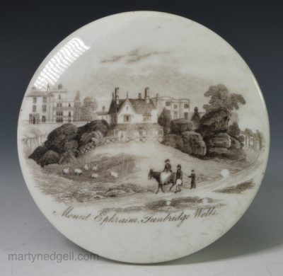 Porcelain pot lid