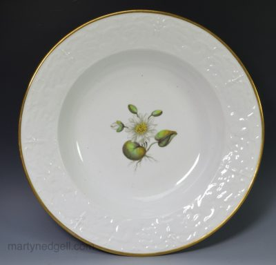 English porcelain soup plate