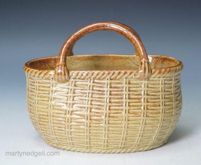 Brampton stoneware basket