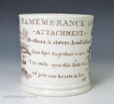 Child's pearlware mug