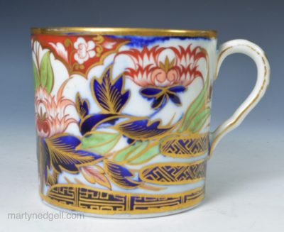 English porcelain coffee can