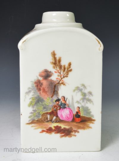 Berlin porcelain tea canister