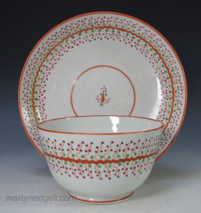 Porcelain teabowl & saucer