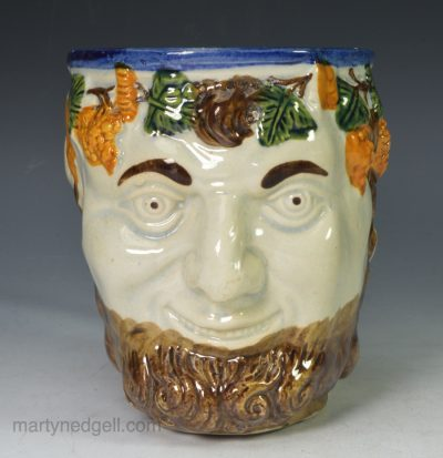 Prattware Bacchus mug