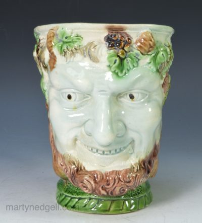 Pearlware Bacchus mug