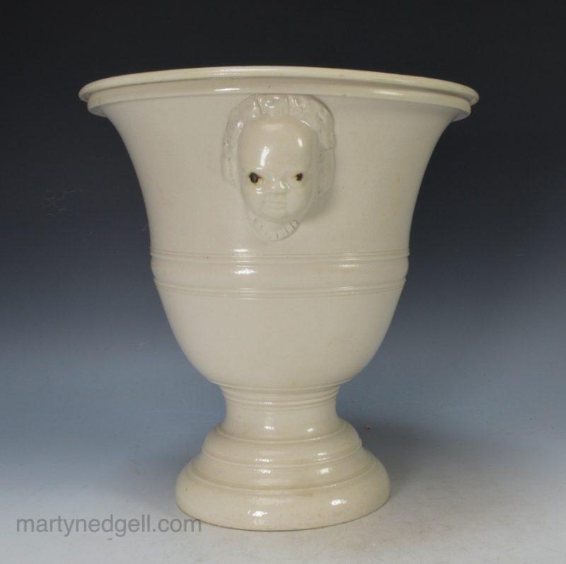 Staffordshire saltglaze vase