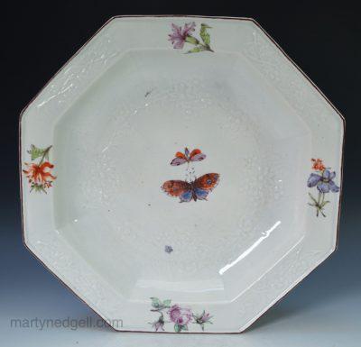 Chelsea porcelain soup plate