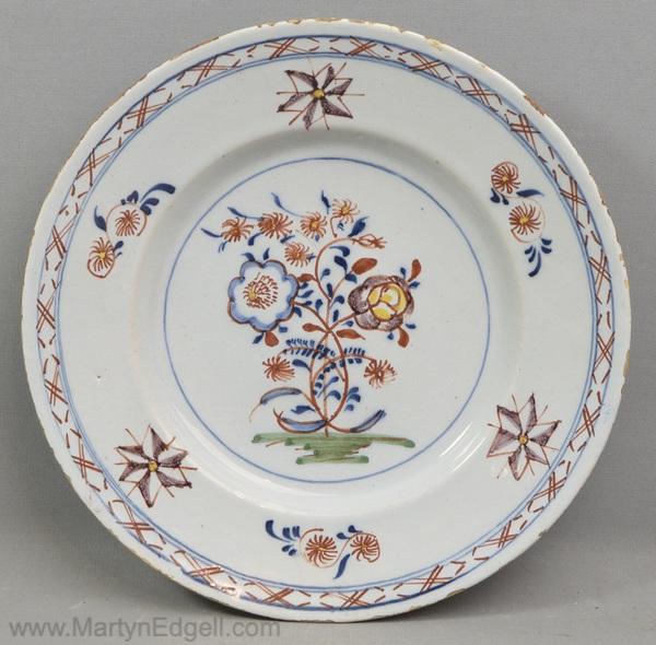 Antique Dutch Delft plate
