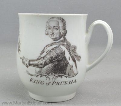 Antique Worcester mug
