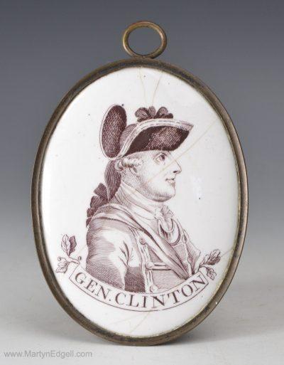 Bilston Gen. Clinton Enamel
