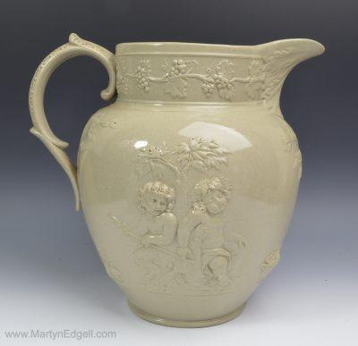 Spode drabware jug