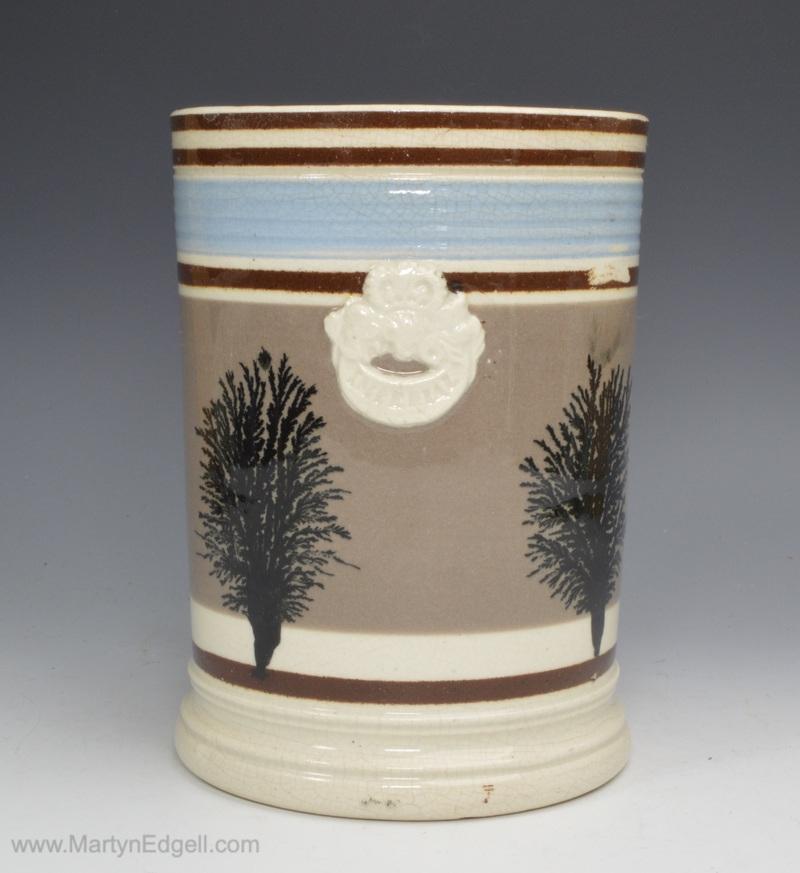 Mochaware pint pub mug