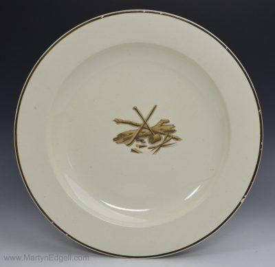 Wedgwood creamware plate