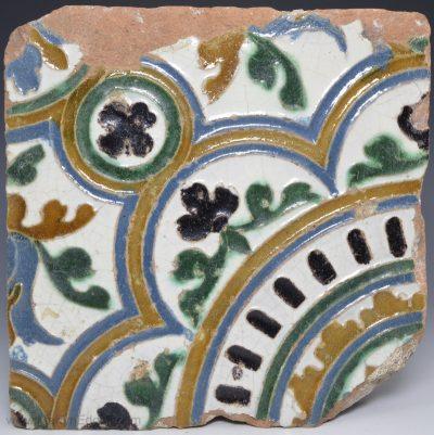 Spanish Arista tile