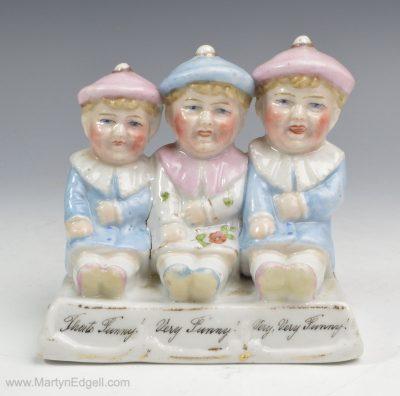 German porcelain fairing