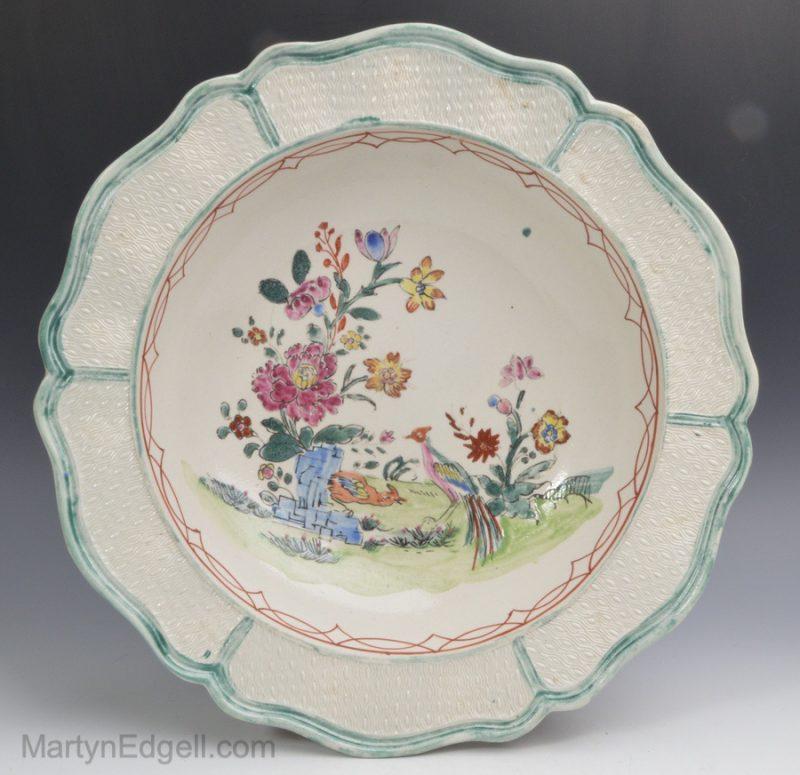 Saltglaze stoneware plate
