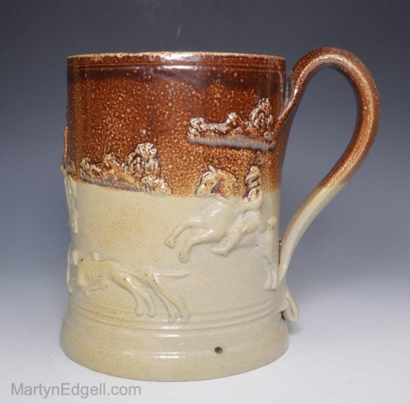 Fulham stoneware tankard