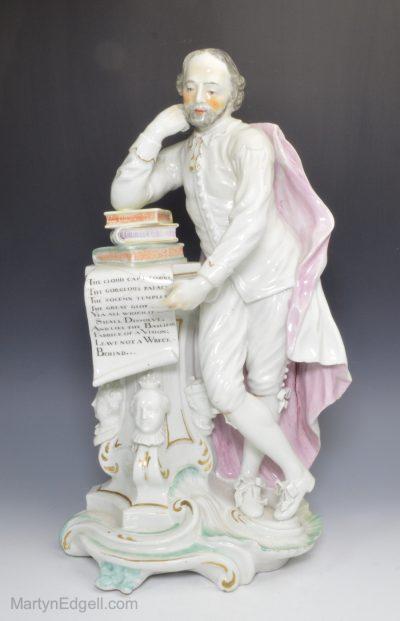 Derby porcelain Shakespeare
