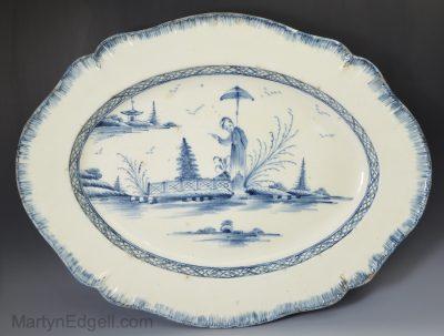Creamware platter