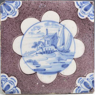 Dutch Delft tile