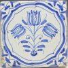 Dutch Delft tile panel