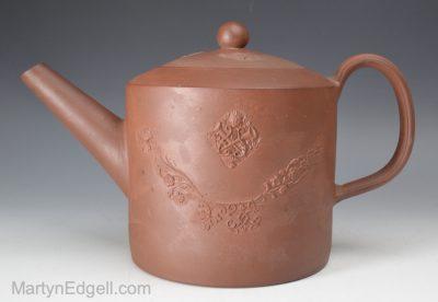Staffordshire redware teapot
