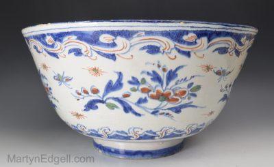 Bristol Delft punch bowl
