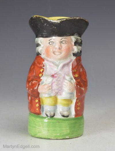 Pearlware Toby jug