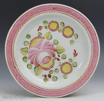 Pearlware plate