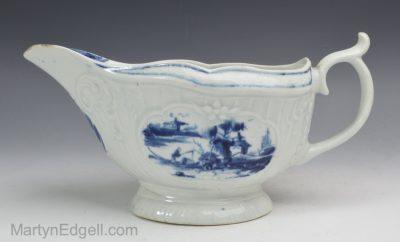 Worcester porcelain sauce boat