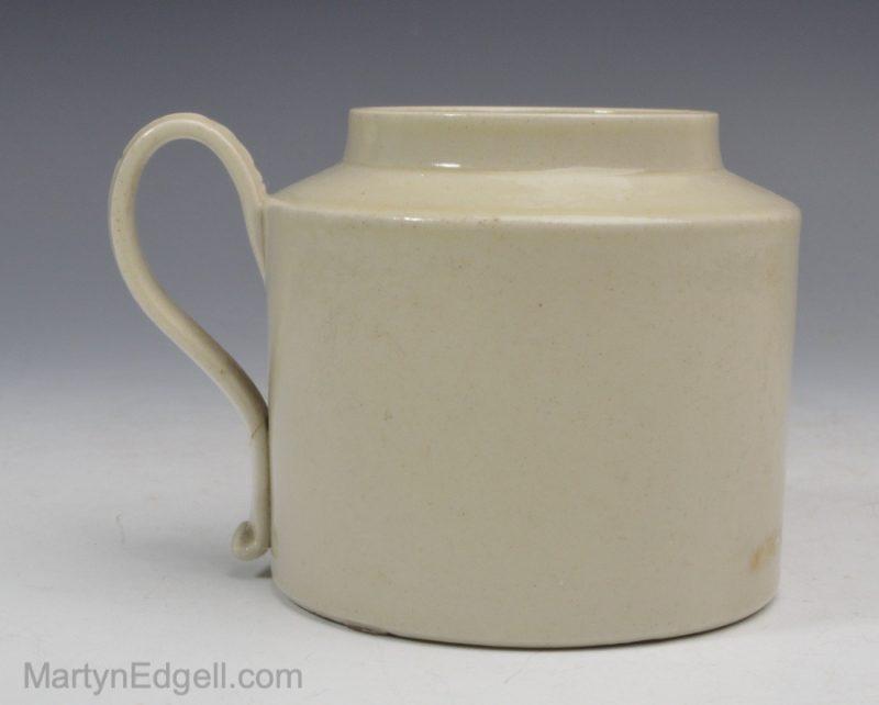 Staffordshire saltglaze pot