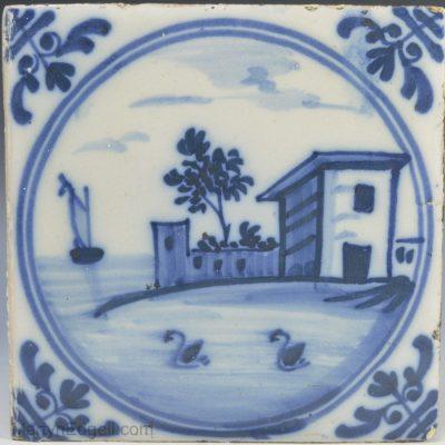 Liverpool Delft tile
