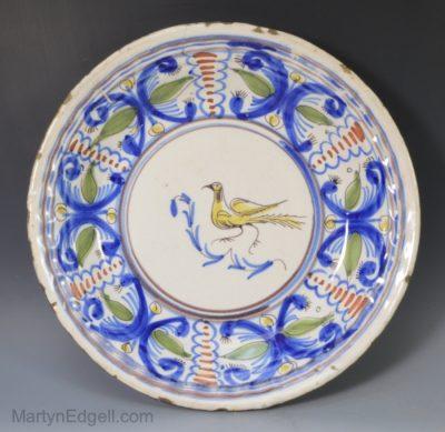 French tin glaze dish