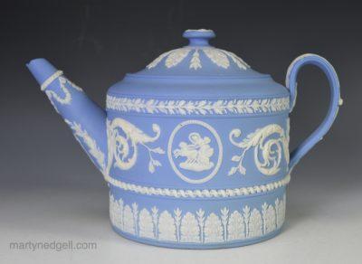 Wedgwood jasper teapot
