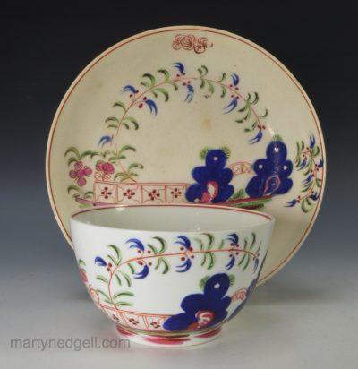English tea bowl and saucer