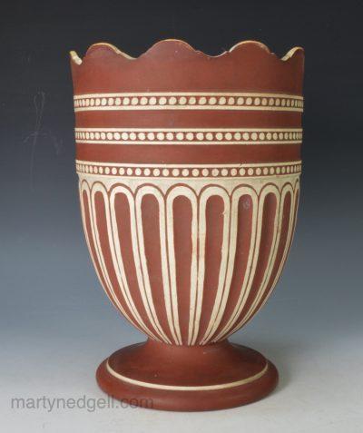 Wedgwood terracotta vase