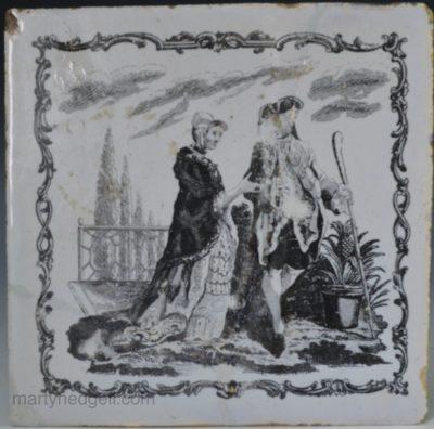 Liverpool Sadler Delft tile