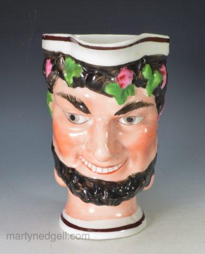 Porcelain bacchus mug