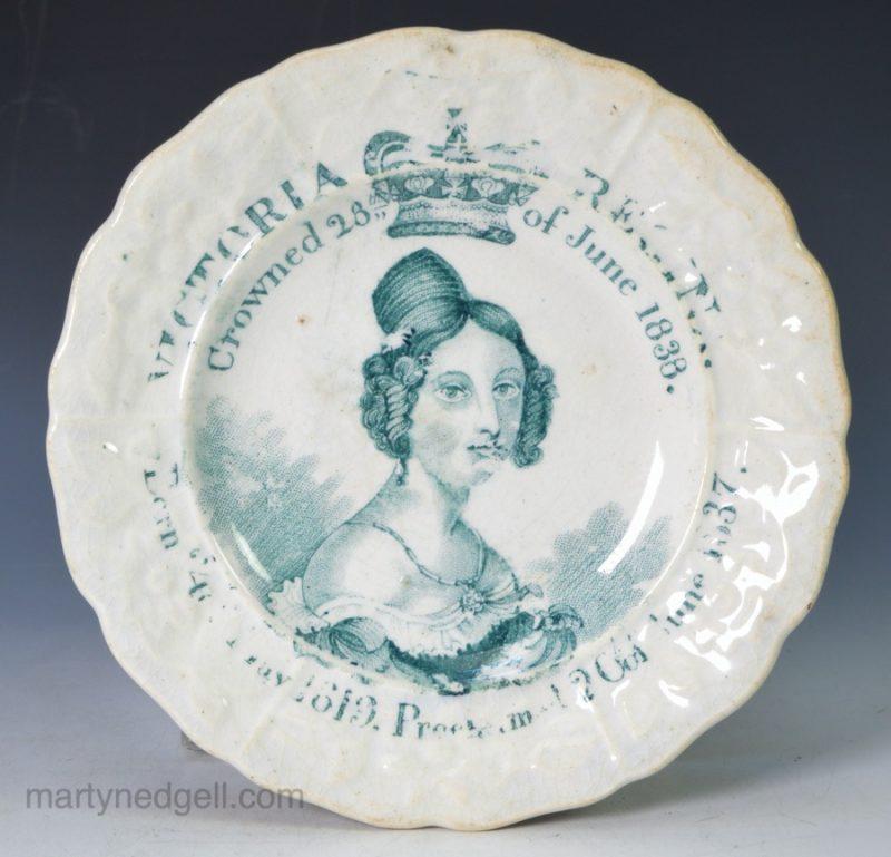 Commemorative Victoria plate