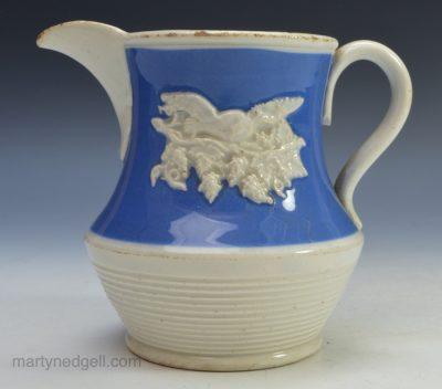 Pearlware pottery jug