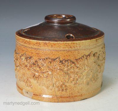 Saltglaze stoneware ink well