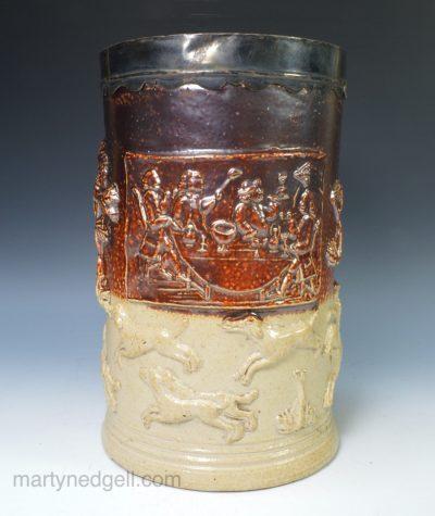 Mortlake saltglaze tankard
