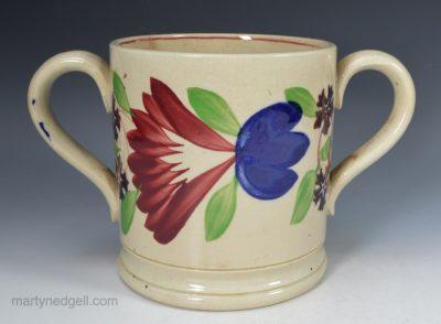Pearlware loving cup
