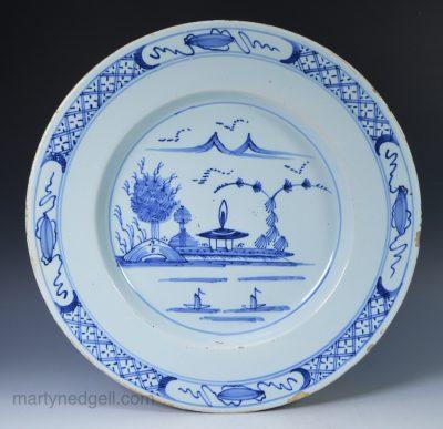 English delft plate