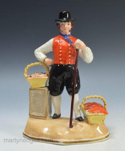 Staffordshire porcelain figure